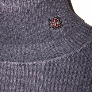Ralph Lauren Knit Turtle-Neck Sweater